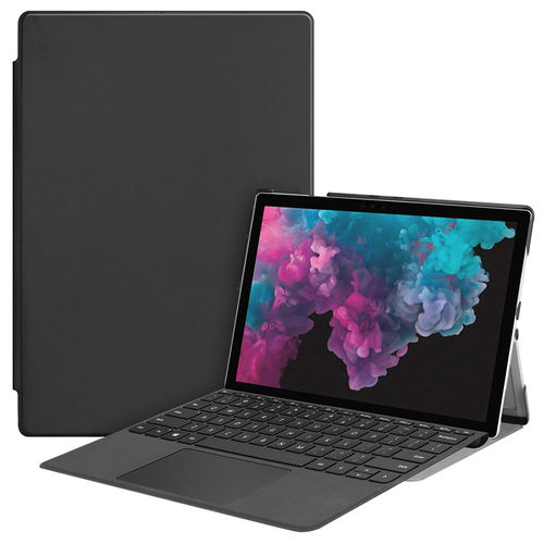 Slim Smart Case & Stand for Microsoft Surface Pro 4 / 5 / 6 - Black